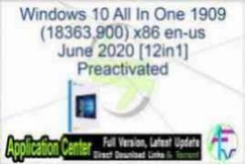 Windows 10 20H2 AIO + Office 365 x64 pt-BR Setembro 2020